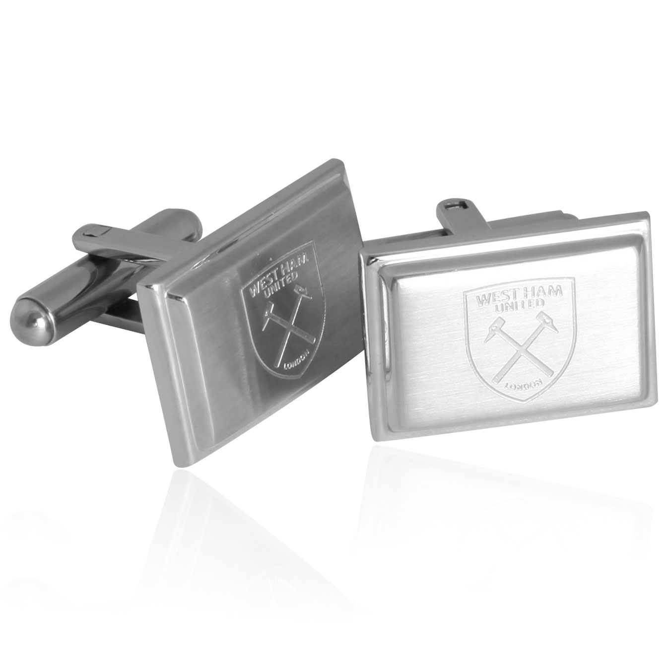 RECTANGLE CREST CUFFLINKS