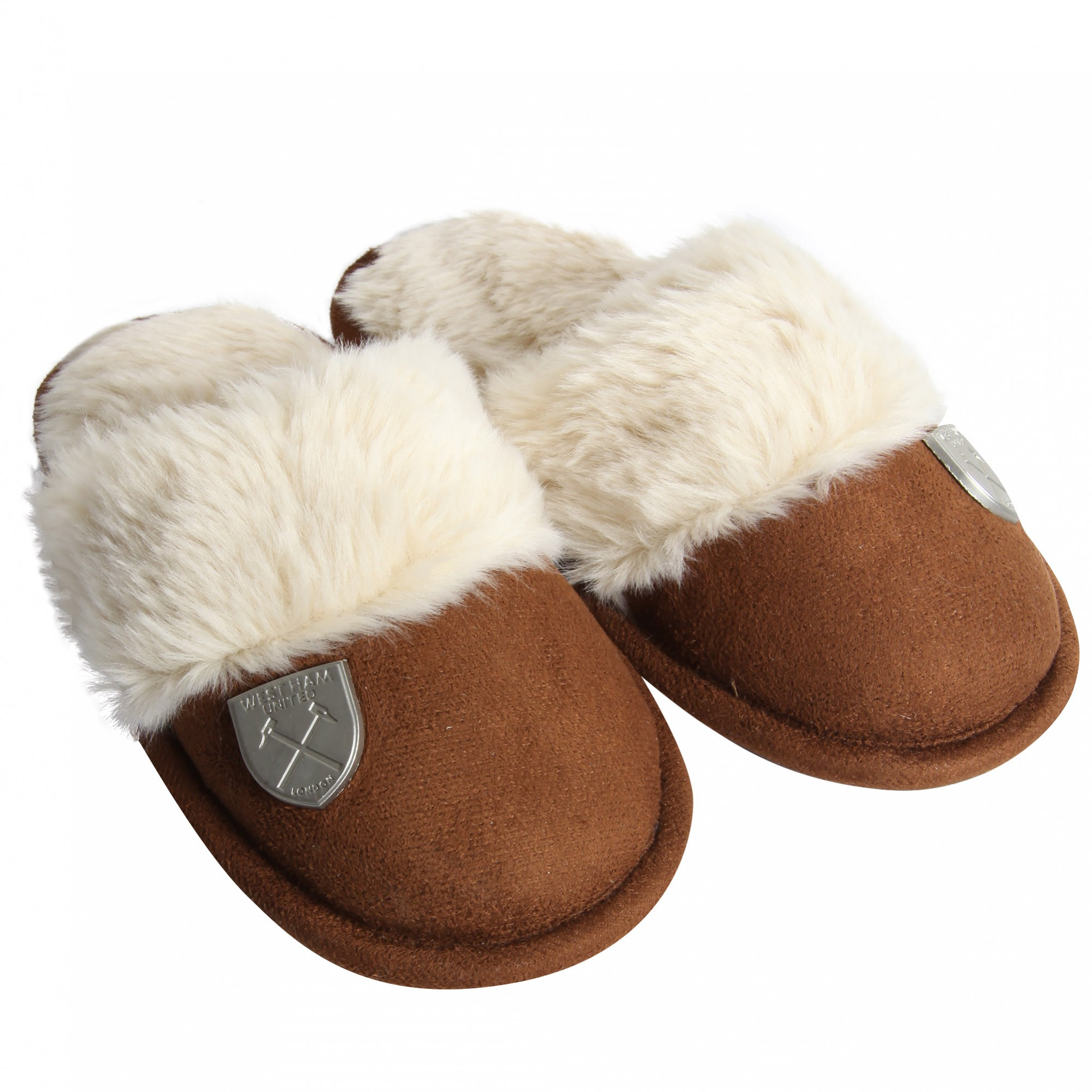 GIRLS CUFF SLIPPERS