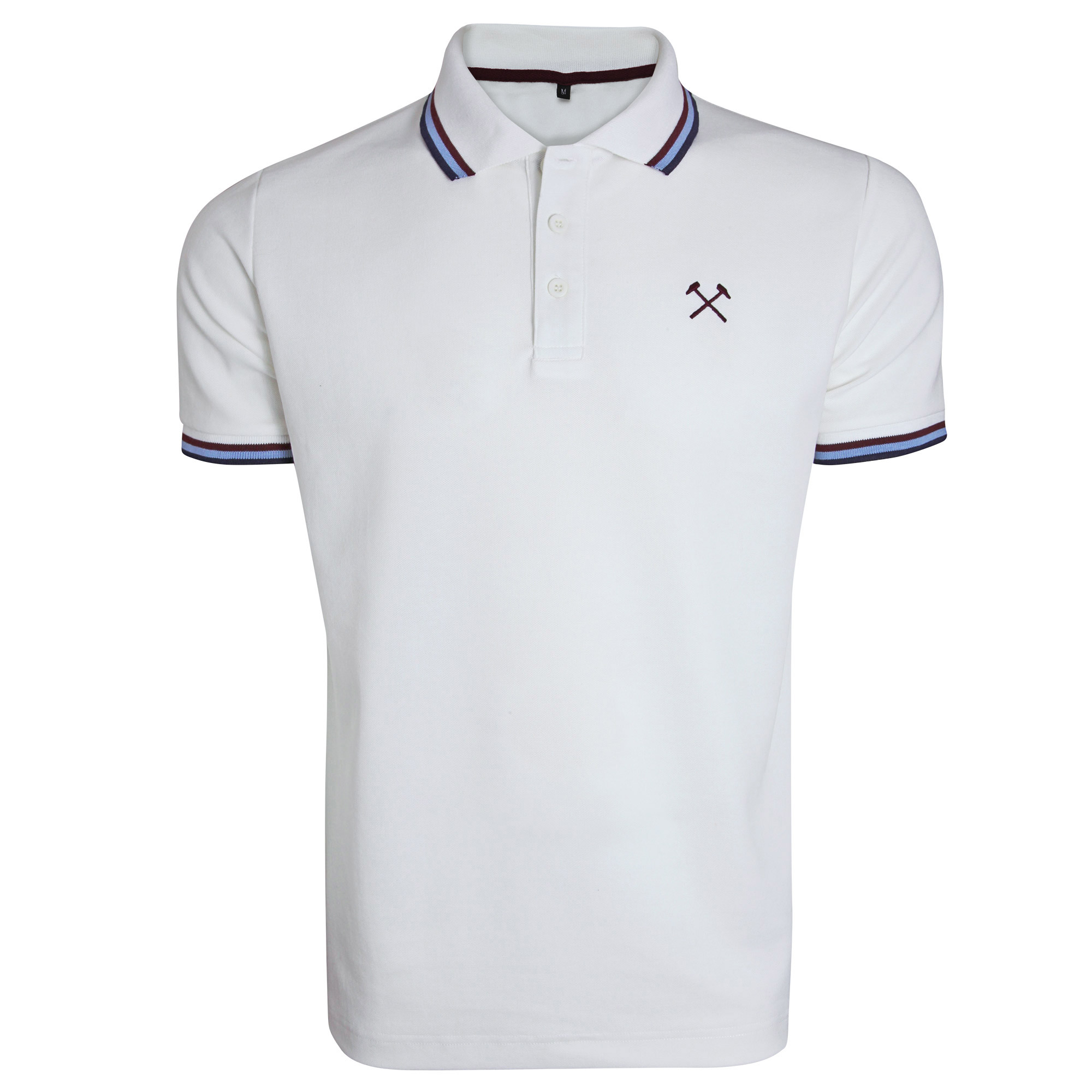 WHITE TIPPED HAMMERS POLO
