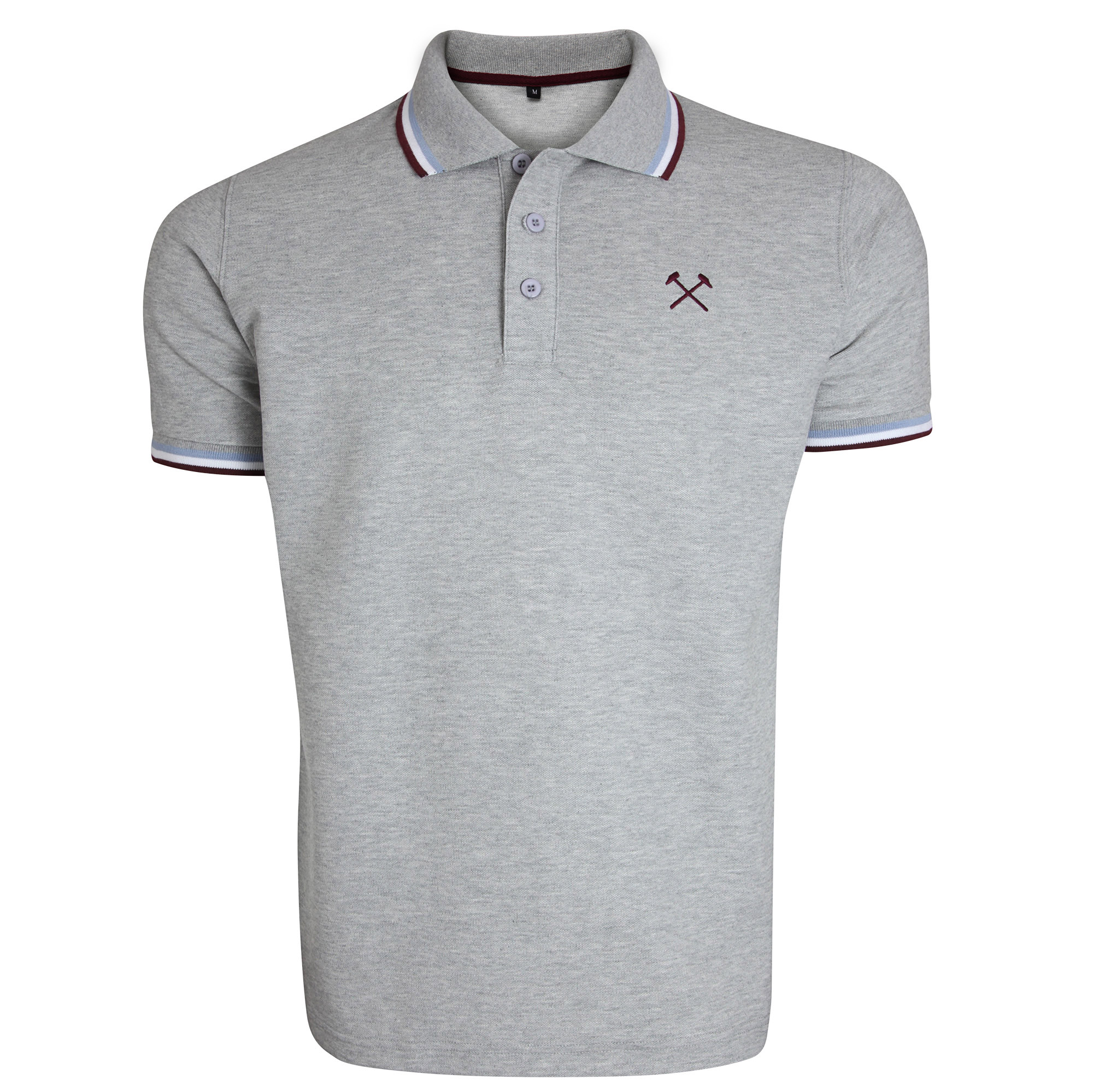 GREY TIPPED HAMMERS POLO