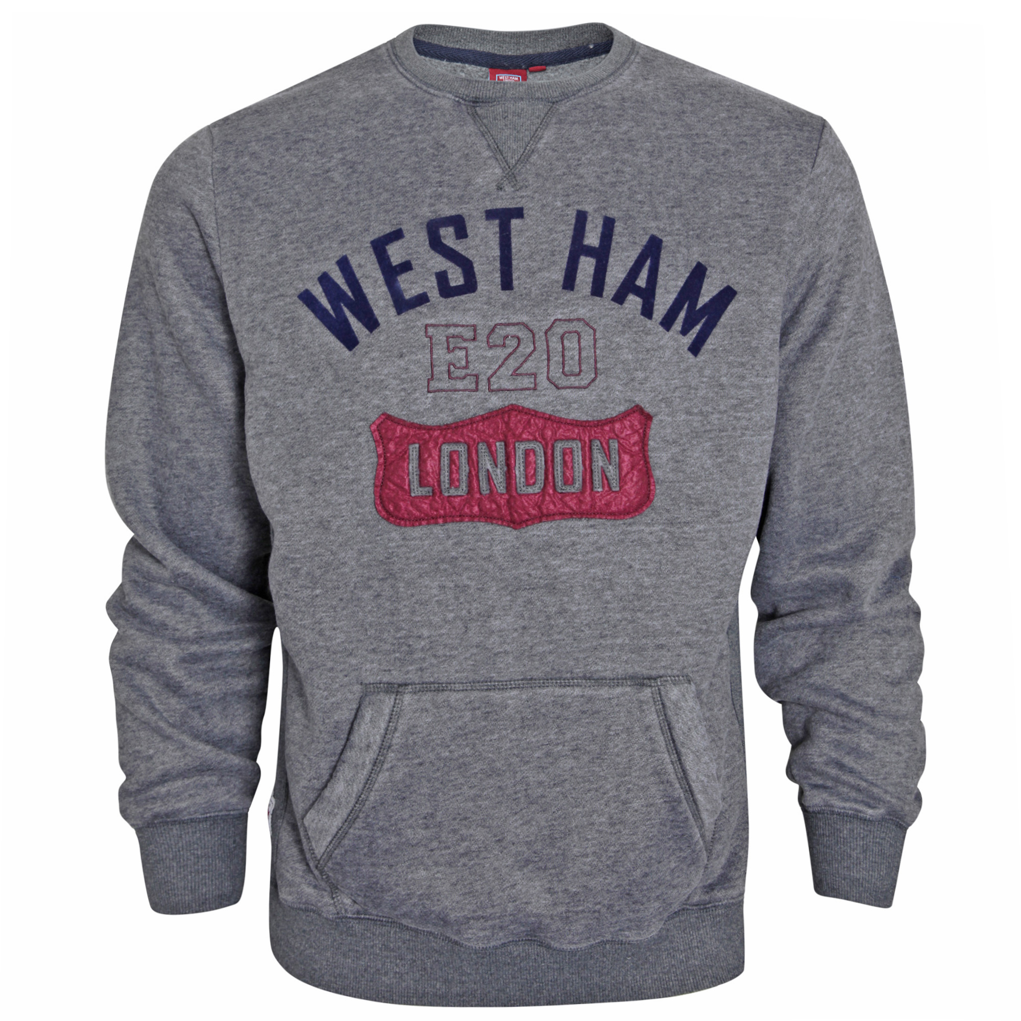 GREY WEST HAM SWEATSHIRT