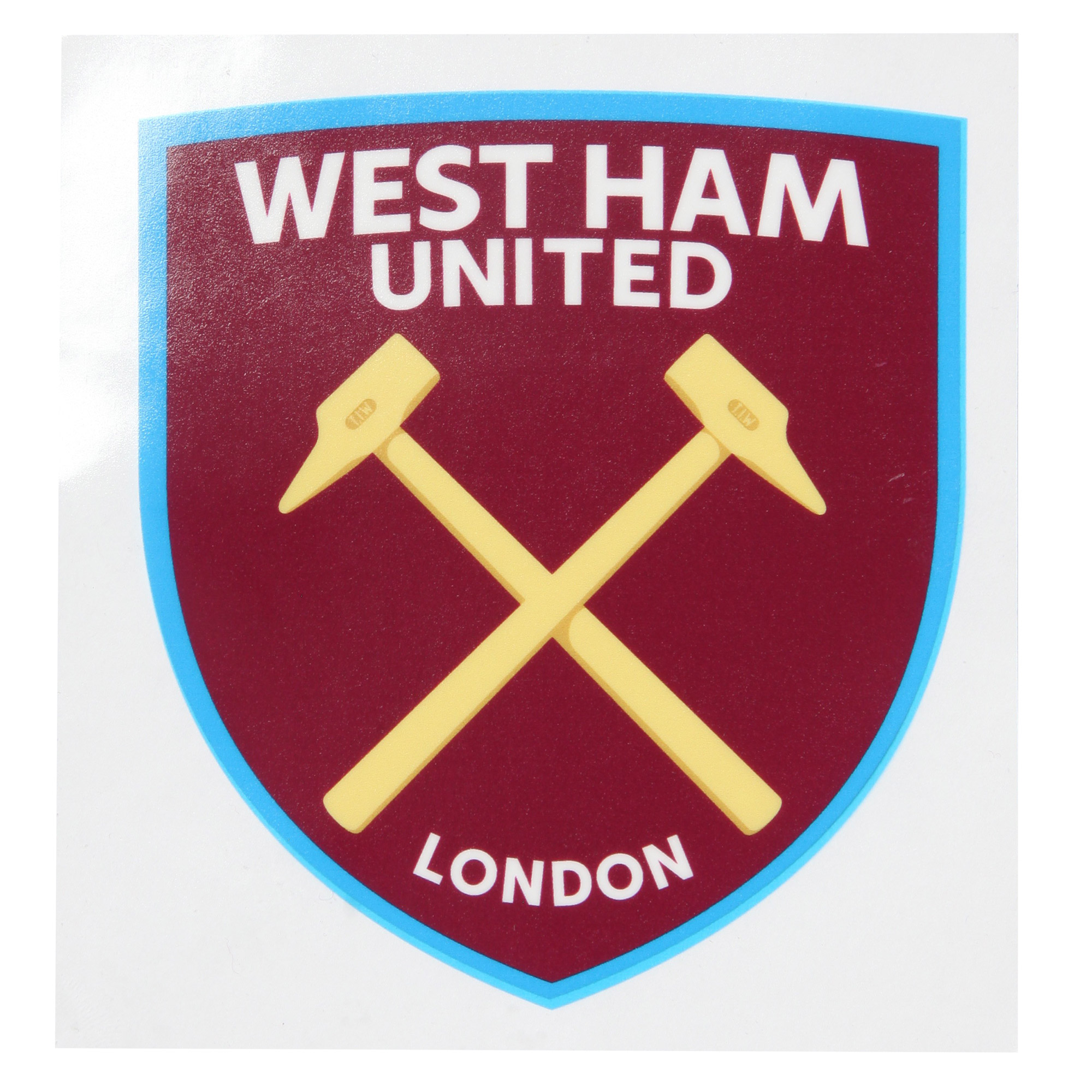 CREST CAR STICKER