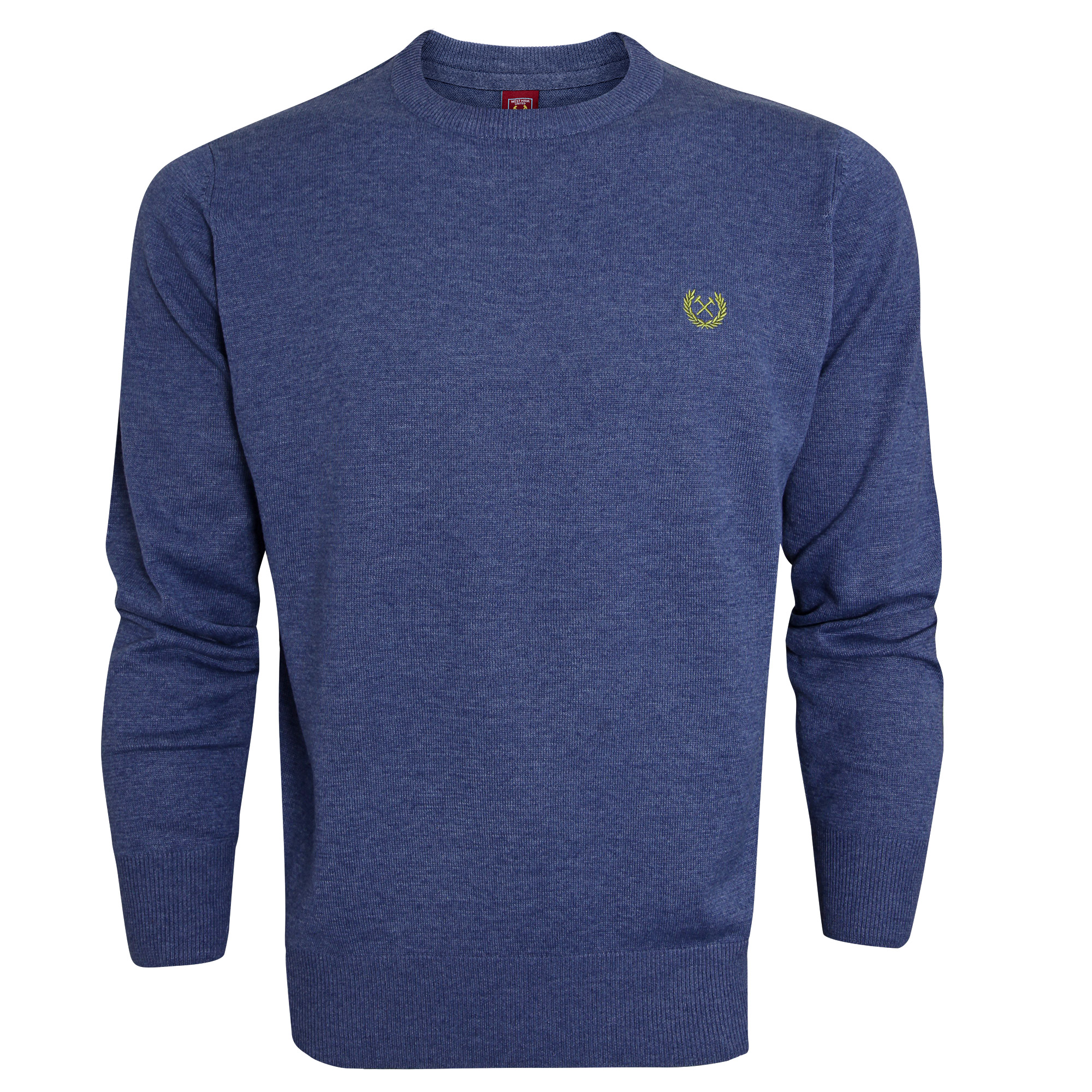 BLUE MARL JUMPER