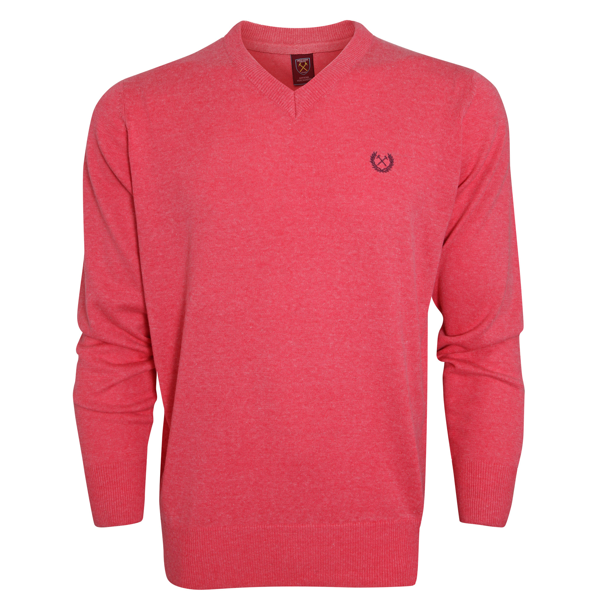 2440 - SALMON V-NECK JUMPER