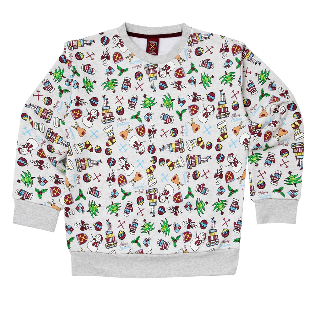 JUNIOR MULTI CHRISTMAS SWEATSHIRT