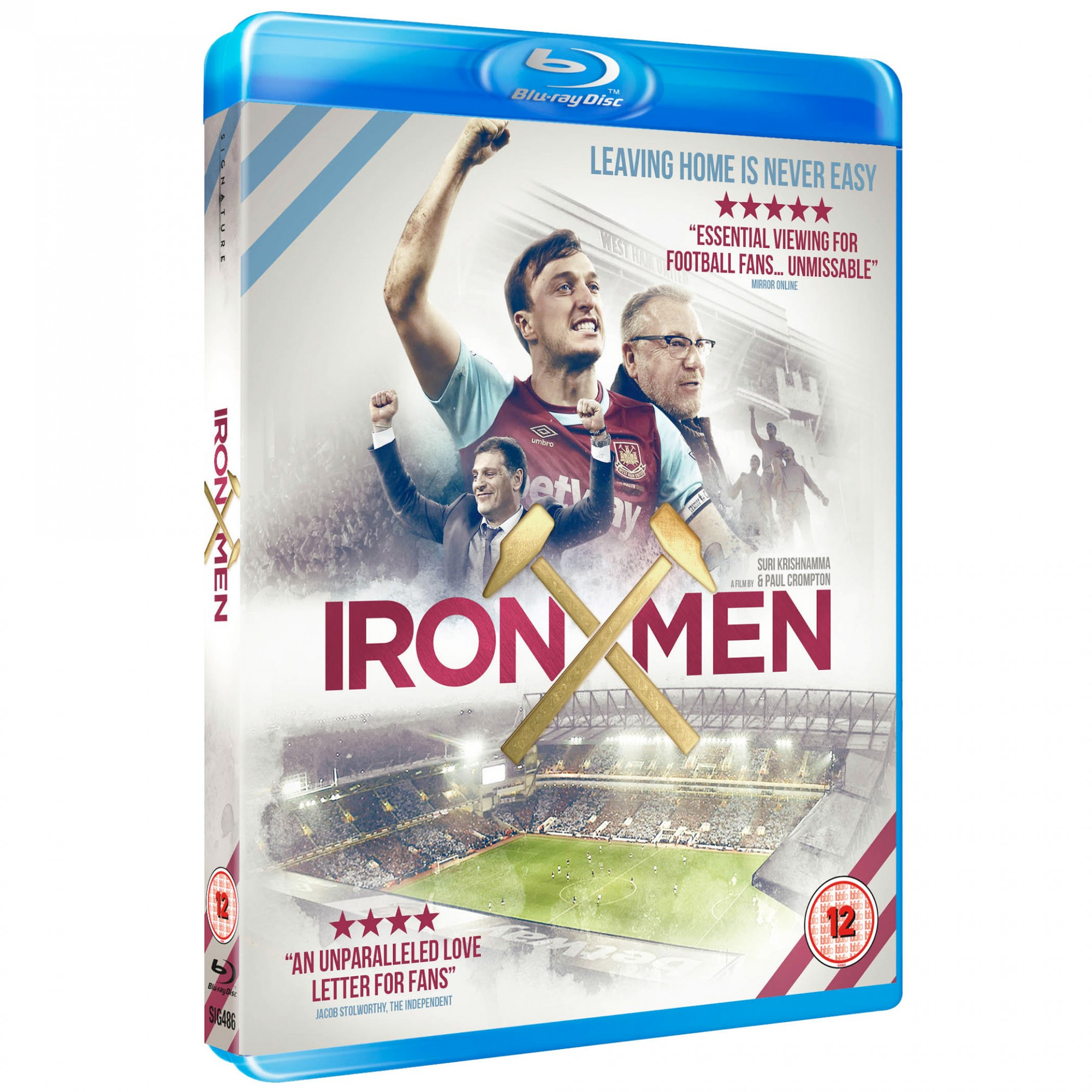 IRON MEN BLU -RAY