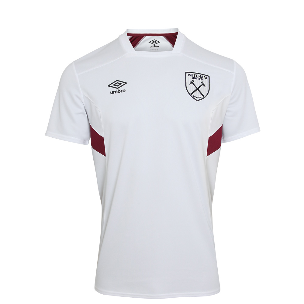 2017/18 JUNIOR TRAINING JERSEY WHITE