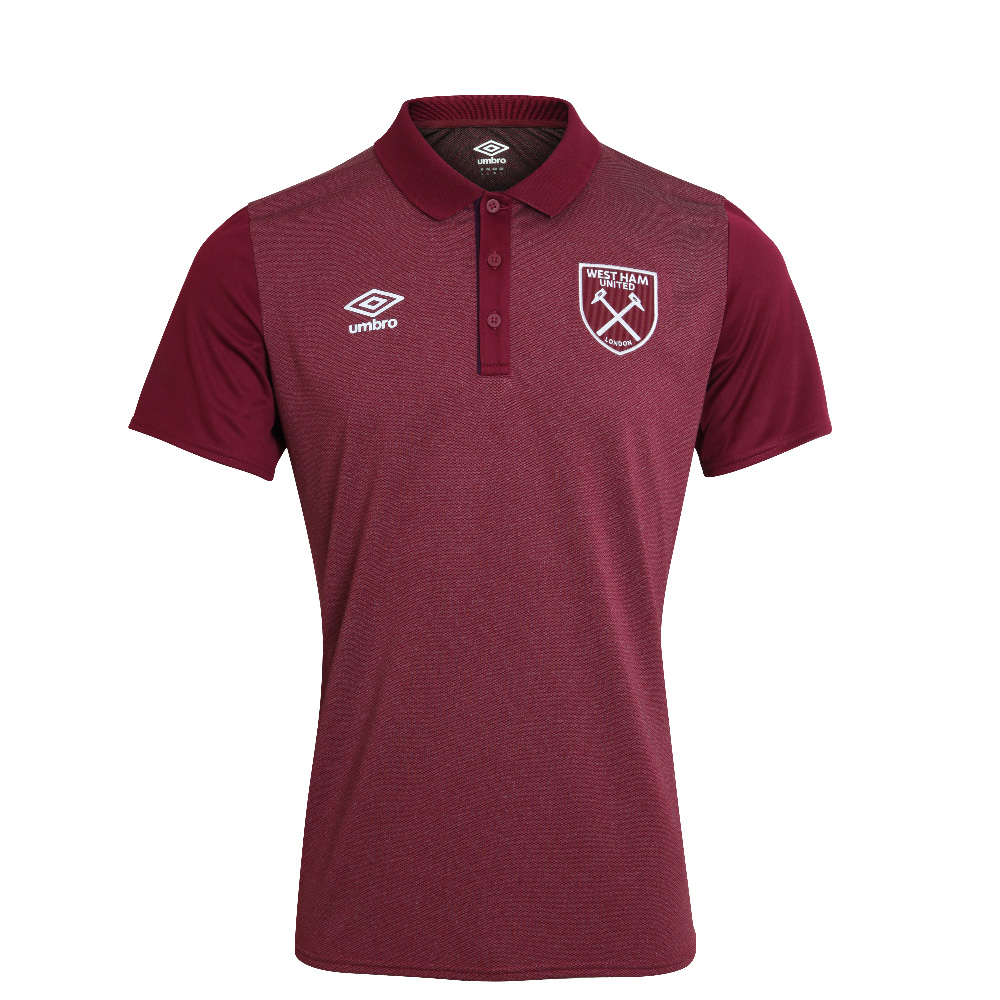 2017/18 JUNIOR POLY POLO CLARET