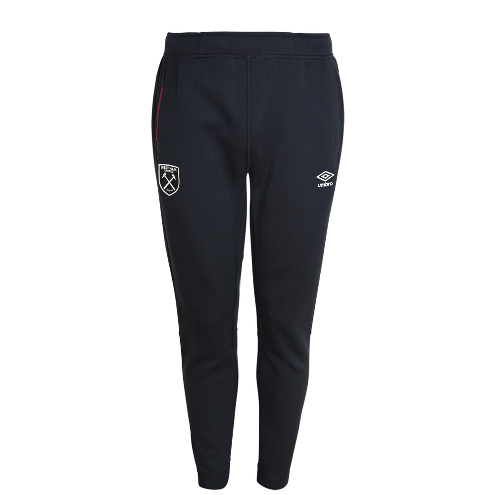 2017/18 JUNIOR PRO FLEECE PANTS BLACK