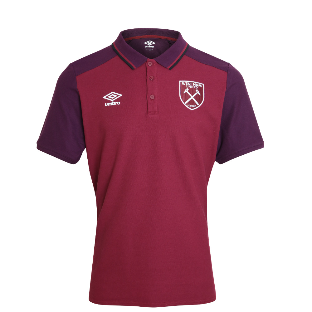 2017/18 JUNIOR TRAINING CVC POLO CLARET