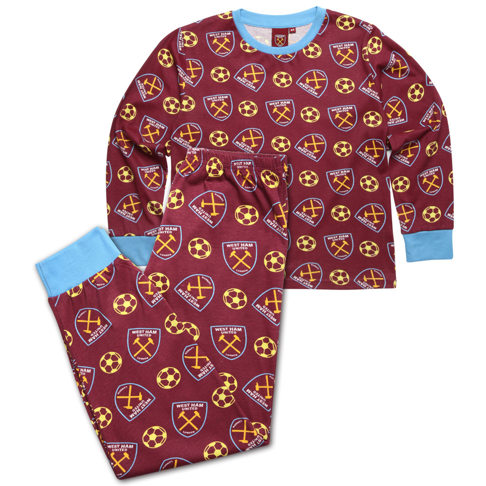 JUNIOR CREST FOOTBALL PYJAMAS