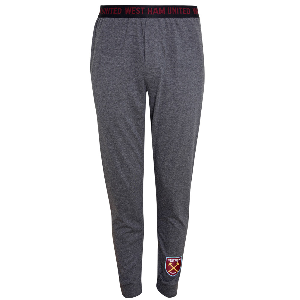 MENS CHARCOAL LOUNGE PANTS