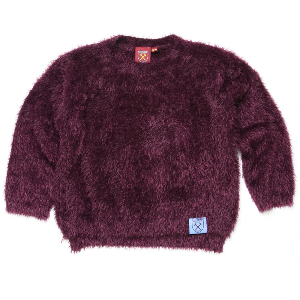 GIRLS FLUFFY SWEATER