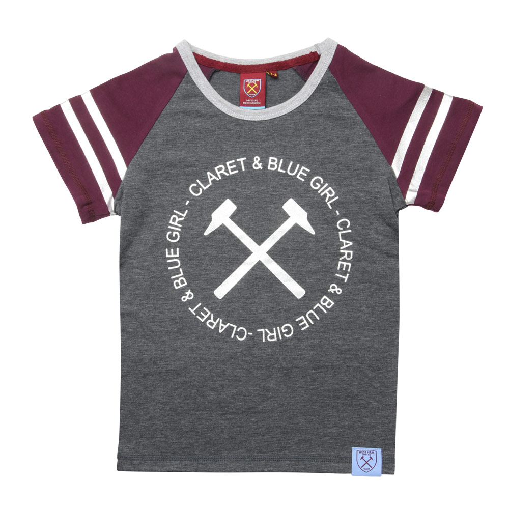 GIRLS RAGLAN T-SHIRT