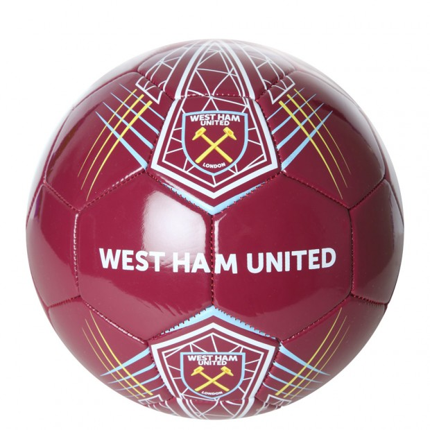 SIZE 4 CLARET FOOTBALL