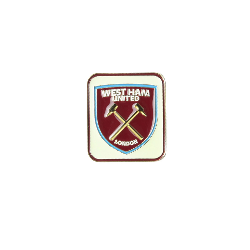 GLOW IN THE DARK CREST PIN BADGE