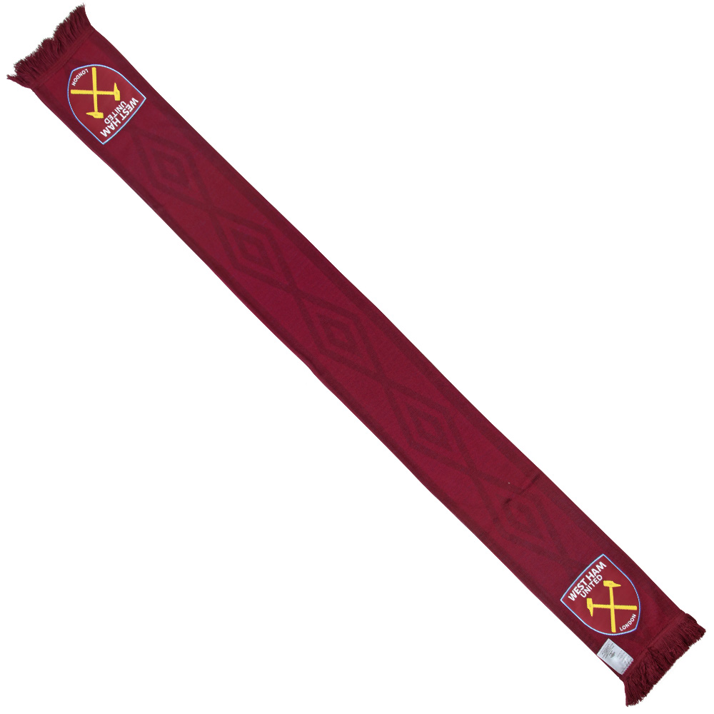 UMBRO WHUFC TAPED SCARF