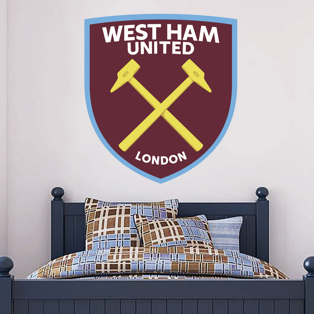 CREST WALL STICKER