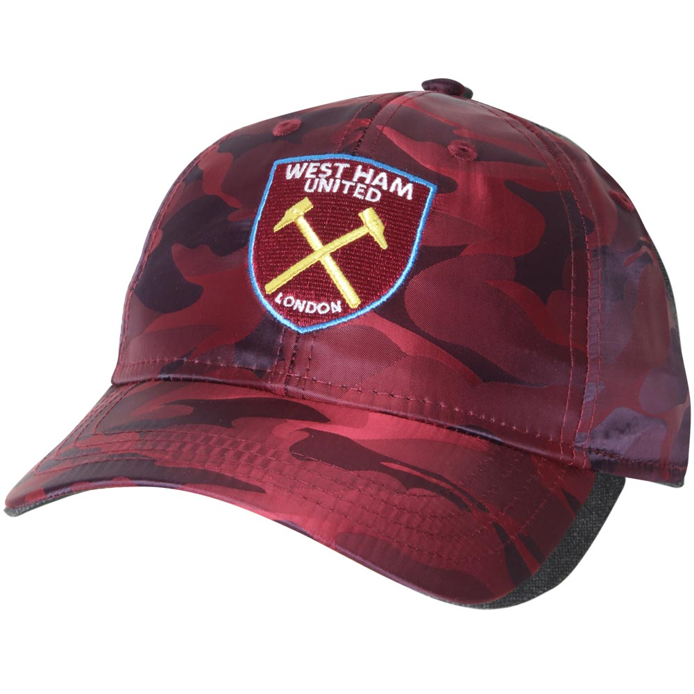 JUNIOR CLARET CAMO CAP
