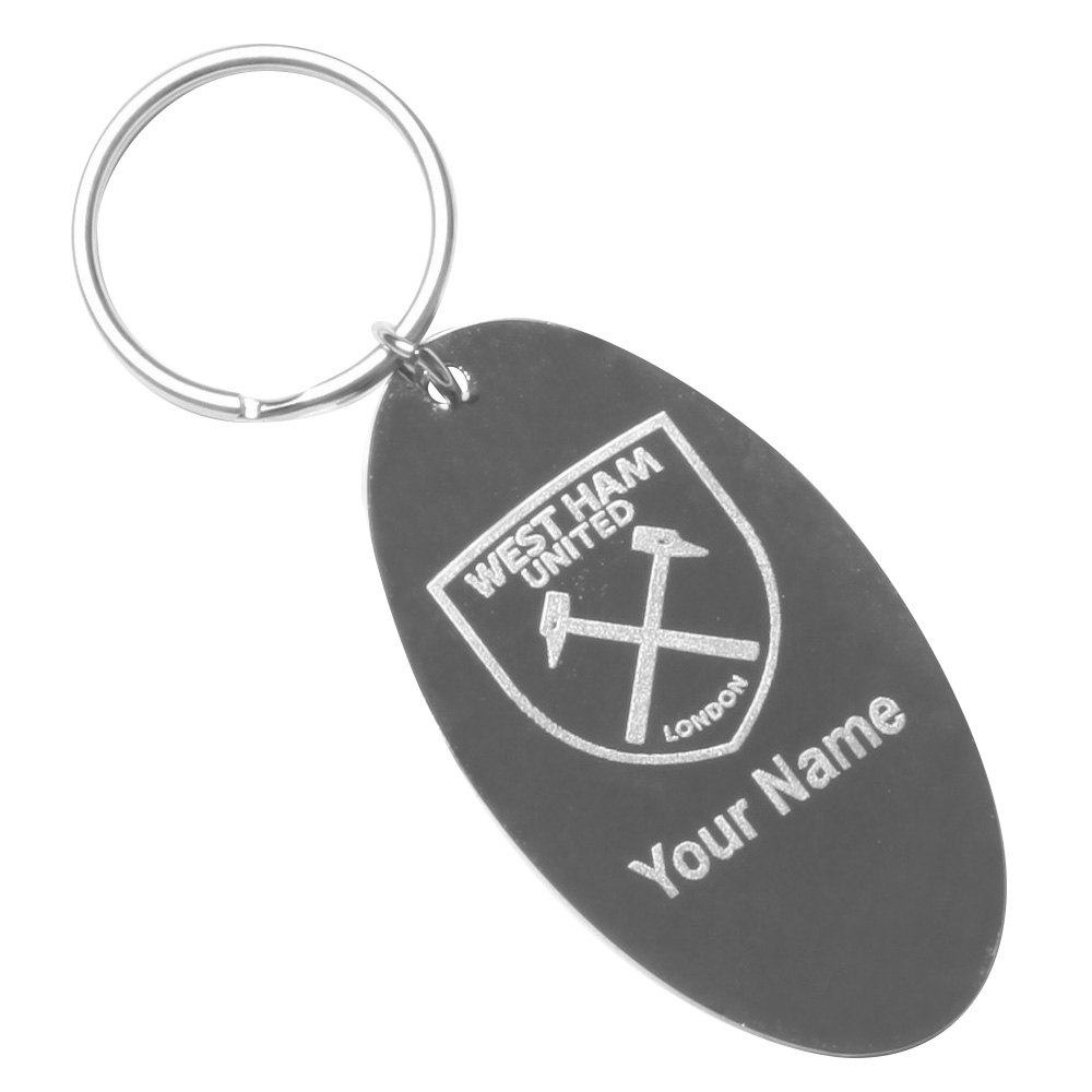YOUR NAME ENGRAVED KEYRING