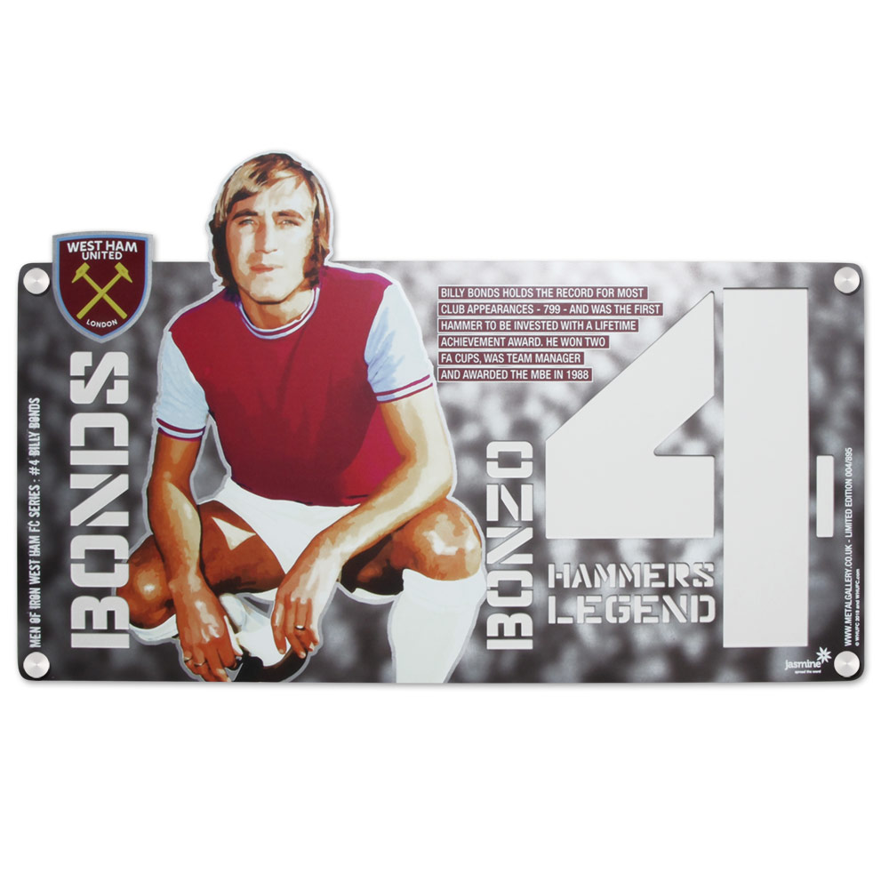 METAL ART - BILLY BONDS