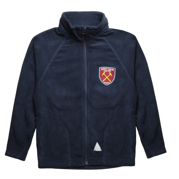 JUNIOR NAVY  FLEECE CREST JACKET