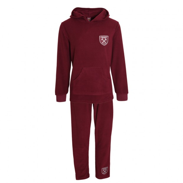 LADIES FLUFFY FLEECE PYJAMAS