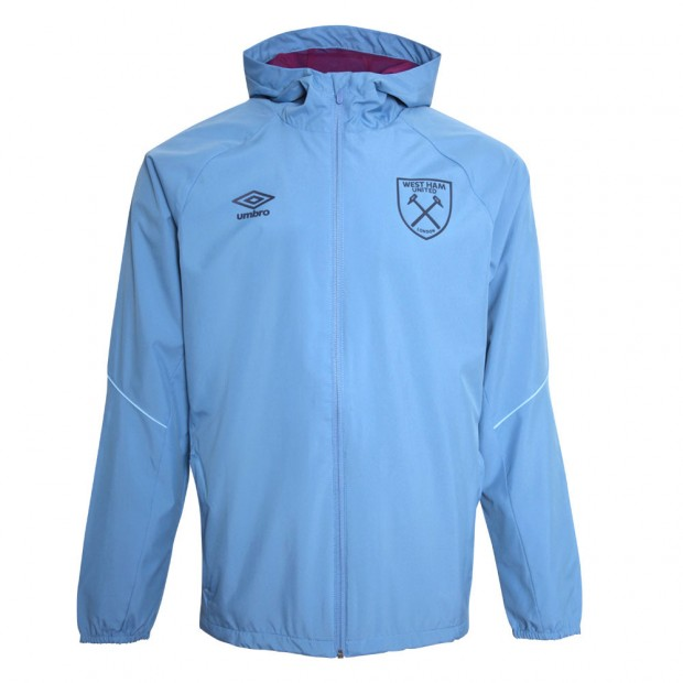 8f003198f2b 2018/19 ADULTS TRAINING SHOWER JACKET BLUE YONDER