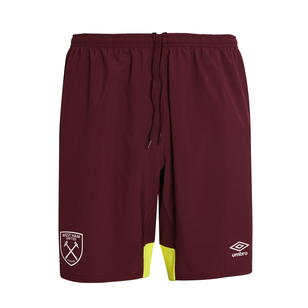 2018/19 ADULT TRAINING WOVEN SHORTS ZINFANDEL