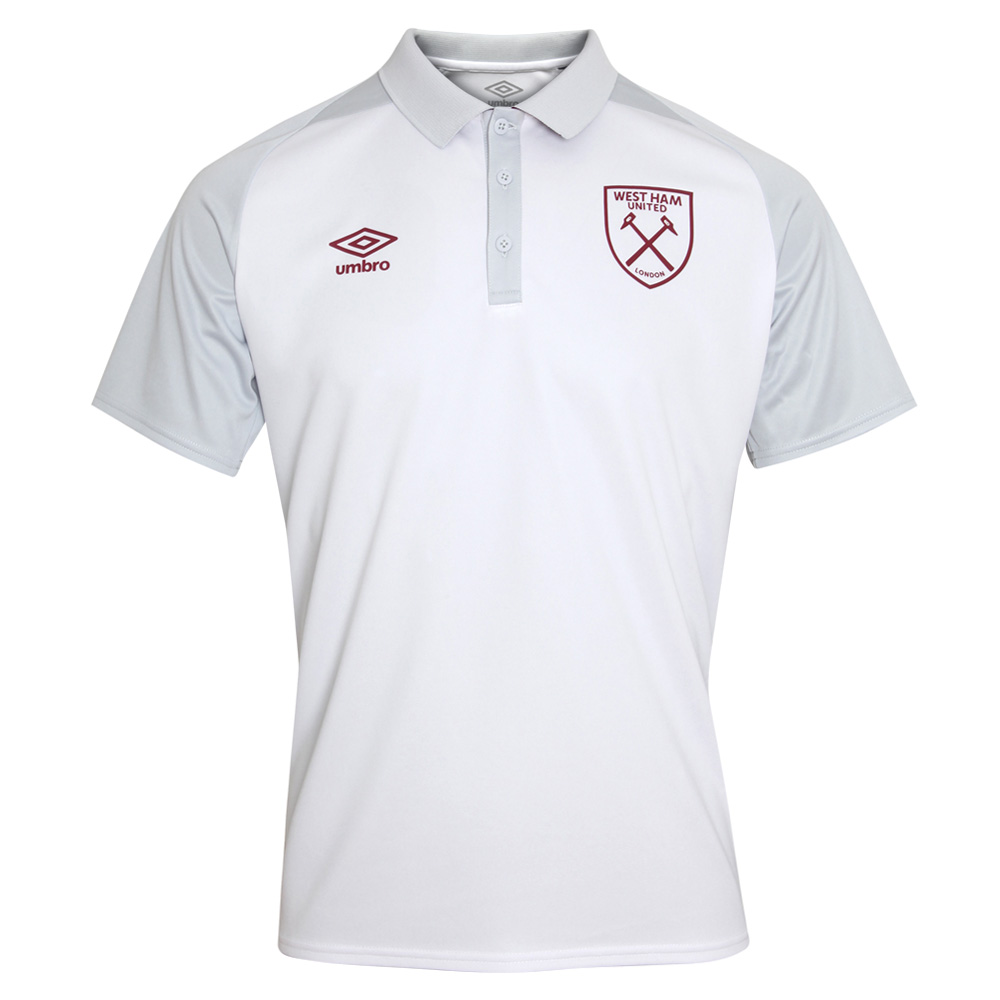 2018/19 ADULTS POLY POLO WHITE