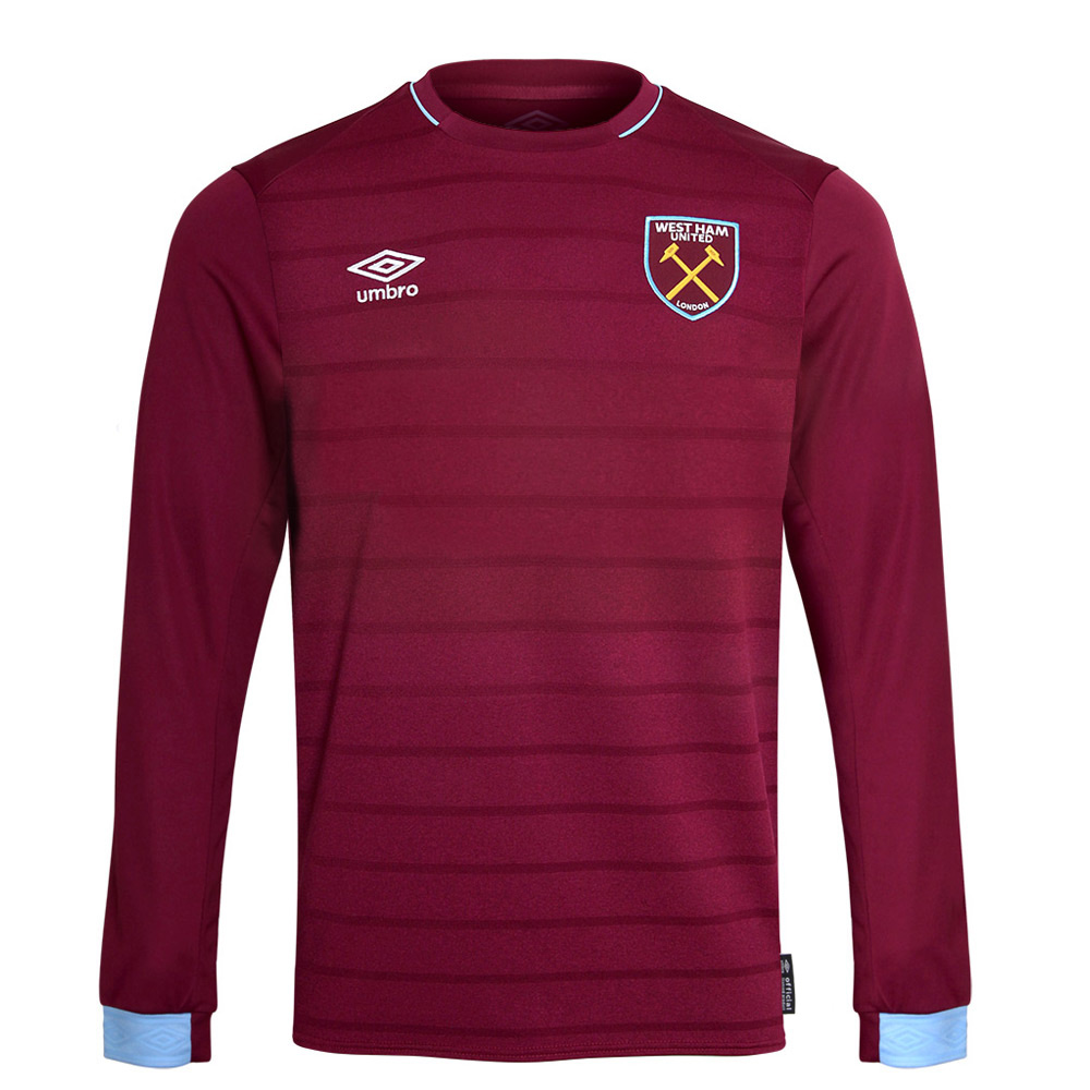 2018/19 UNSPONSORED L/S HOME SHIRT