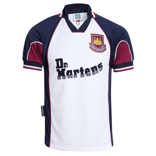 719b82c759a Personalisation Price. Add to Wishlist. Description. West Ham United 1999 Di  Canio Away Shirt