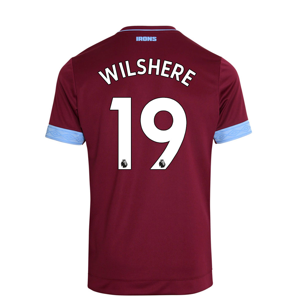 2018/19 JUNIOR WILSHERE 19 HOME SHIRT