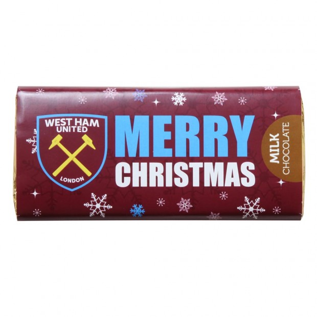 MERRY CHRISTMAS CHOCOLATE BAR