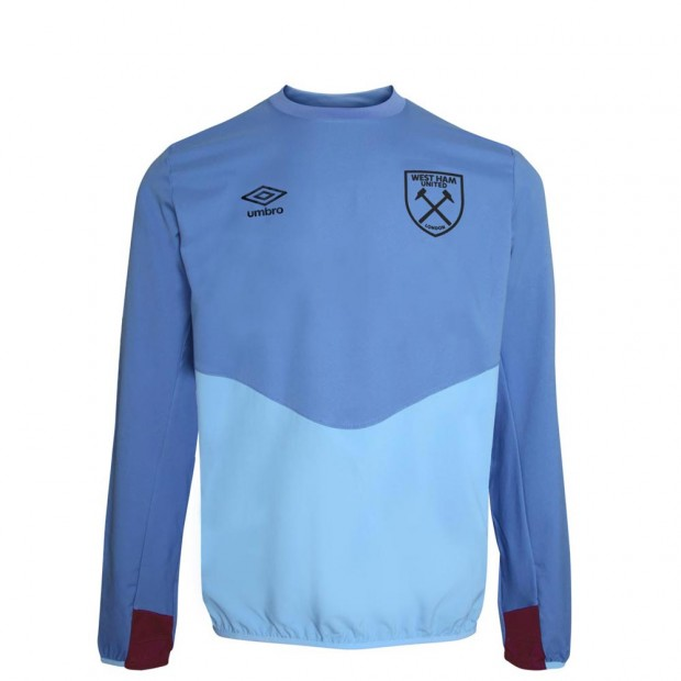 2018/19 JUNIOR TRAINING DRILL TOP VISTA BLUE