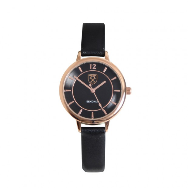 LADIES TONAL ROSE GOLD CREST WATCH
