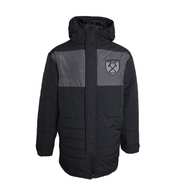 JUNIOR BLACK CHARCOAL PANEL JACKET