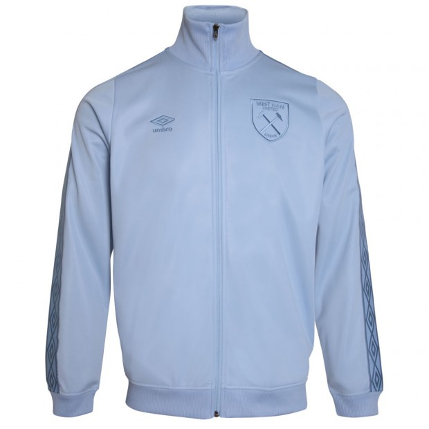 287afe74e0 UMBRO X WEST HAM BLUE TRICOT JACKET