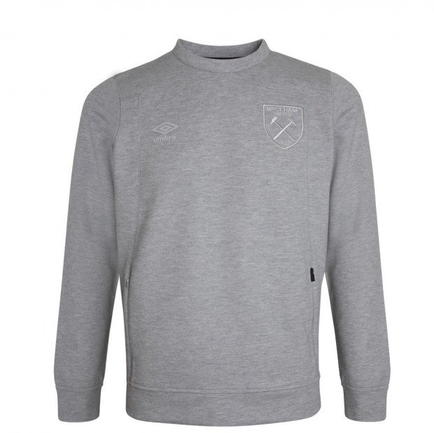WEST HAM UMBRO X JUNIOR GREY SWEATSHIRT