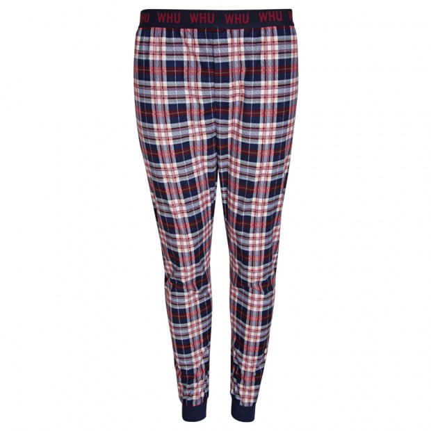 MENS CHECKED LOUNGE PANTS