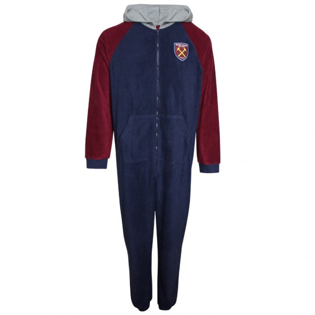 ADULTS NAVY/CLARET ALL IN ONE