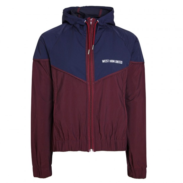 LADIES ATHLEISURE CLARET/NAVY JACKET