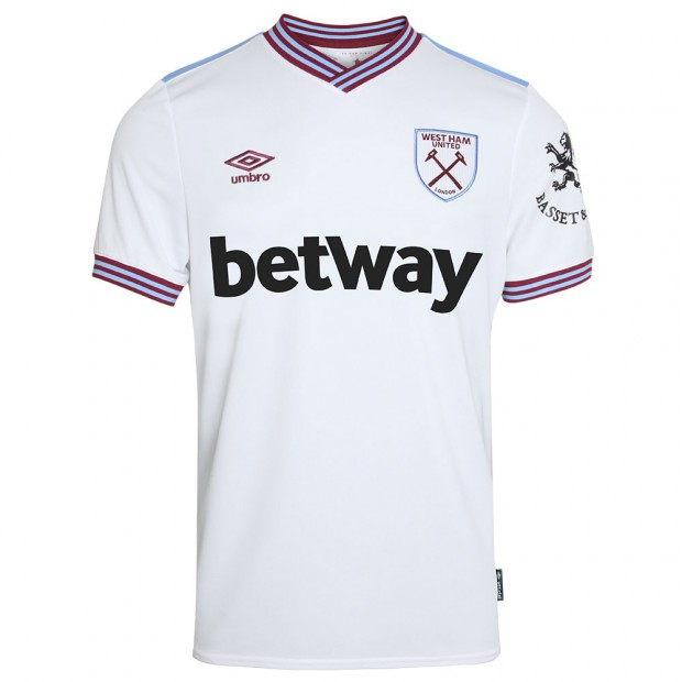 WEST HAM 19/20 ADULT AWAY SHIRT