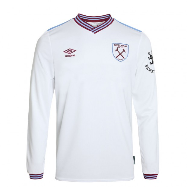WEST HAM 19/20 JUNIOR L/S AWAY SHIRT