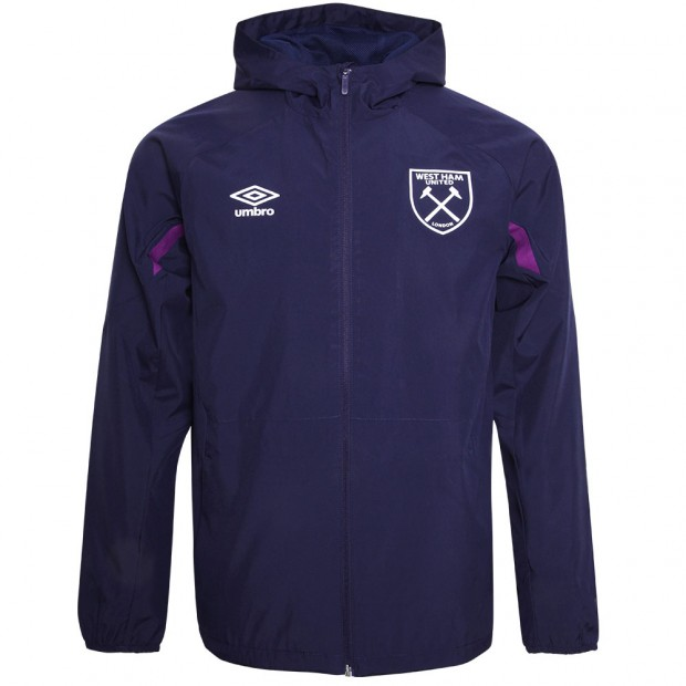 WEST HAM 19/20 ADULTS TRAINING SHOWER JACKET