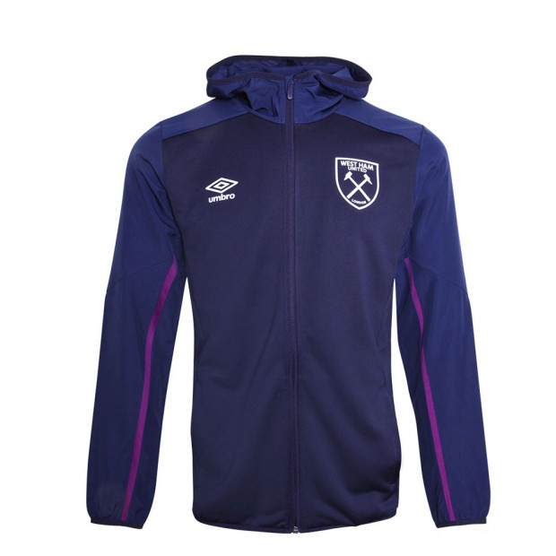 WEST HAM 19/20 JUNIOR HOODED JACKET