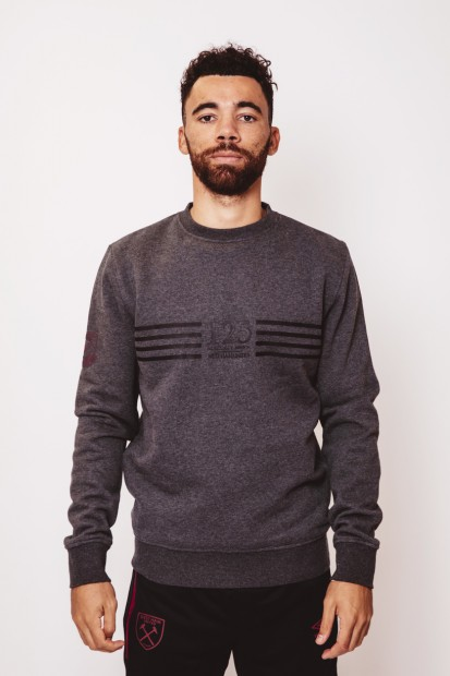 WEST HAM 125 - BLACK SWEATSHIRT