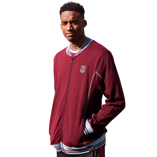 WEST HAM 125 - CLARET VINTAGE JACKET