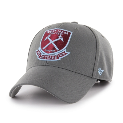 WEST HAM 125-CHARCOAL MVP CAP