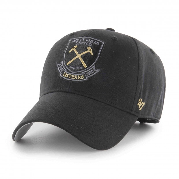 WEST HAM 125-JUNIOR BLACK CREST CAP